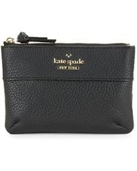 Kate Spade - Mila Leather Pouch - Lyst