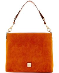 Dooney & Bourke - Court Suede Handbag - Lyst