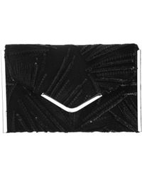 Nina - Juneau Embroidered Convertible Clutch - Lyst