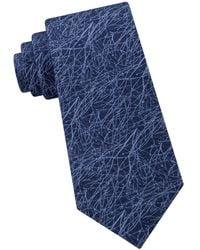 CALVIN KLEIN 205W39NYC - Brush Stroke Abstract Tie - Lyst
