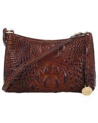 Brahmin - Anytime Leather Mini Shoulder Bag - Lyst
