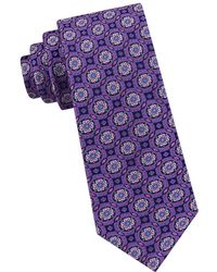 Ted Baker - Circle Medallion Silk Tie - Lyst