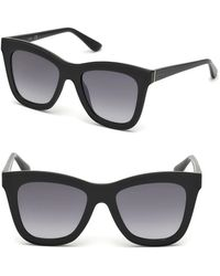 Guess - 52mm Square Sunglasses - Lyst