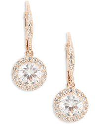 Nadri - Rose Goldtone Crystal Vintage Drop Earrings - Lyst