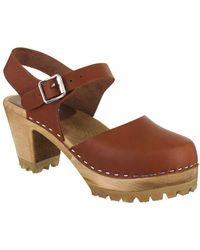 MIA - Abba Leather Clogs - Lyst