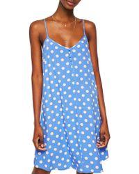 Mango - Chiara V-neck Dress - Lyst