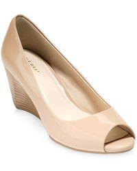 Cole Haan - Sadie Open Toe Wedge Sandals - Lyst