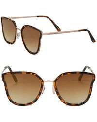 Circus by Sam Edelman - 55mm Tinted Cat Eye Sunglasses - Lyst