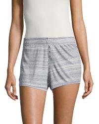 Roudelain - Stripe Textured Shorts - Lyst