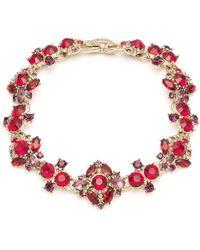Marchesa - Crystal Bracelet - Lyst