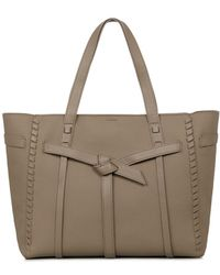 AllSaints - Cami East-west Leather Tote - Lyst