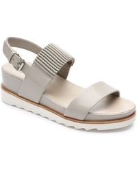 Tahari - Giada Leather Sandals - Lyst