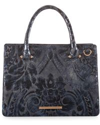 Brahmin - Small Camille Leather Satchel - Lyst