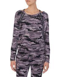 Betsey Johnson - Printed Pyjama Top - Lyst