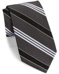 Lauren by Ralph Lauren - Striped Silk Twill Tie - Lyst