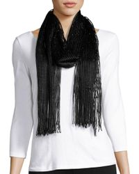 Collection 18 - Pleated Scarf - Lyst