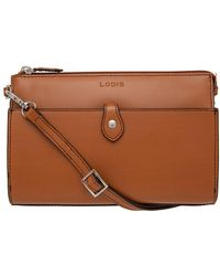 Lodis - Audrey Under Lock And Key Rfid Vicky Leather Convertible Crossbody Clutch - Lyst