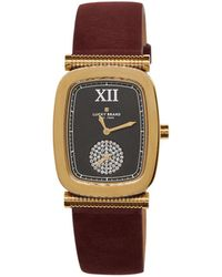 Lucky Brand - Laurel Rectangular Leather Strap Watch - Lyst