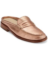 G.H. Bass & Co. - Wynn Iconic Leather Penny Mules - Lyst