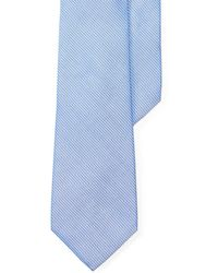 Lauren by Ralph Lauren - Striped Silk-cotton Tie - Lyst