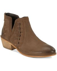 Charles David - Yuma Ankle Booties - Lyst