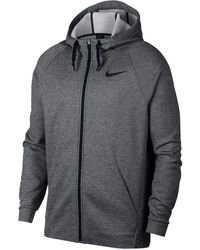 47a627bcb4d Lyst - Nike Zip Front Hoodie in Gray for Men