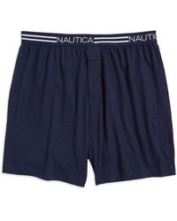 Nautica - Loose Knit Boxer - Lyst
