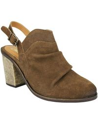 Naughty Monkey - Arizona Suede Slingback Mules - Lyst
