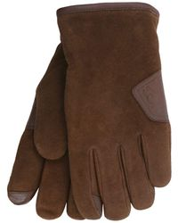 UGG - Smart Suede Gloves - Lyst