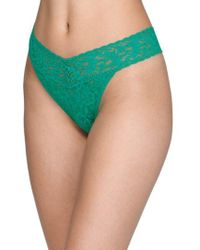 Hanky Panky - Lace Thong - Lyst