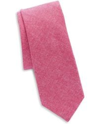 Original Penguin - Textured Cotton Tie - Lyst