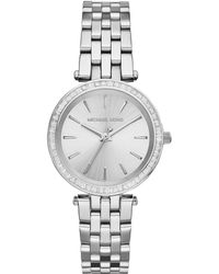 Michael Kors Mini Darci Stainless Steel Glitz Bracelet Watch