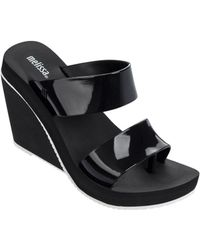 Melissa - Ankle-buckle Wedge Sandals - Lyst