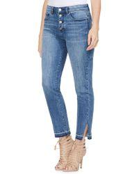 Vince Camuto - Sapphire Sheen Boyfriend-fit Jeans - Lyst