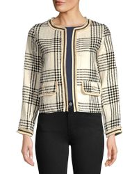 Dorothy Perkins - Textured Open-front Jacket - Lyst