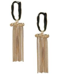 Mango - Multiple Chain Earrings - Lyst