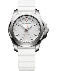 Victorinox - I.n.o.x. Stainless Steel Analog Watch - Lyst