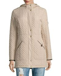 Weatherproof - Hooded Quilted Jacket - Lyst