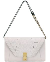 Elliott Lucca - Cordoba Leather Convertible Shoulder Clutch - Lyst
