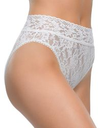 Hanky Panky - Lace French Briefs - Lyst