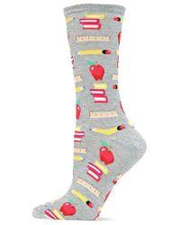 Hot Sox - Back To School Printed Socks - Lyst