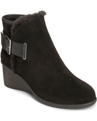 Aerosoles - Gravel Suede Ankle Boots - Lyst