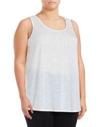 Marc New York - Text Graphic Tank Top - Lyst
