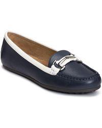 Aerosoles - Drive Along Leather Bit Loafers - Lyst