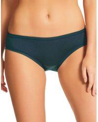 Fine Lines - Pure Cotton Bikini Knickers - Lyst