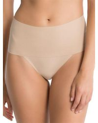 Spanx - Undie-tectableshaping Thong - Lyst