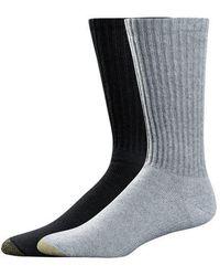 Goldtoe - 6 Pack Crew Socks - Lyst