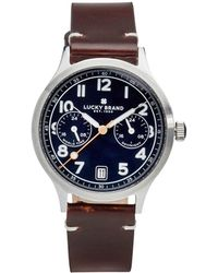 Lucky Brand - Jefferson Highland Multi-function Watch - Lyst