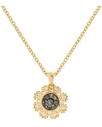 Ted Baker - Crystal Daisy Lace Crystal Sirou Pendant Necklace - Lyst