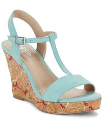 Charles David - Laney Wedge Sandals - Lyst